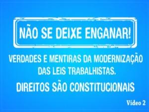 Read more about the article Modernização Trabalhista – Vídeo 3
